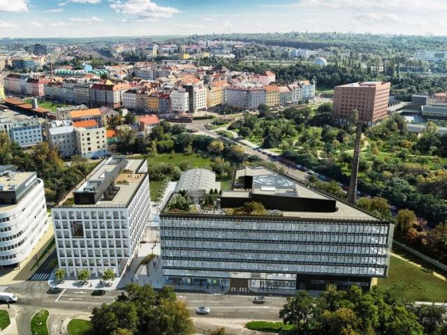 Metrostav Development otevírá na Palmovce nové Realitní centrum, foto Metrostav a.s.