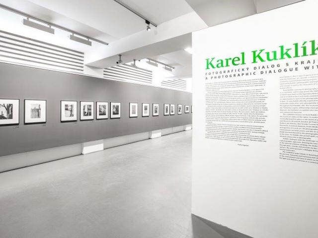 Dům fotografie představuje Fotografické krajiny Karla Kuklíka, foto GHMP