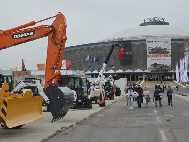 Construct Expo 2017, Bukurešť, Rumunsko je s českou účastí, foto Romexpo