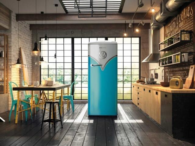 Gorenje Retro chladnička ve stylu VW Bulli, foto Gorenje