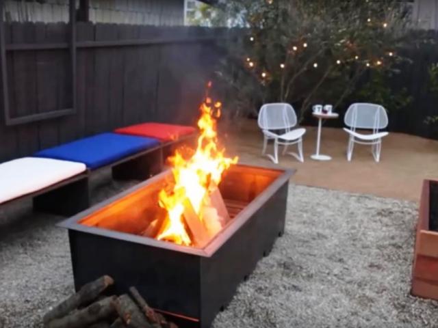 Jak vylepšit venkovní posezení u otevřeného ohně, foto Ideas Creative SB