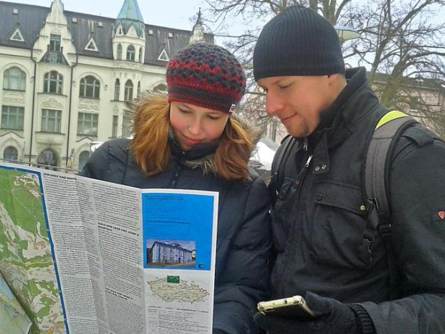 Po Jablonci nejlépe s novou mapou, foto Město Jablonec