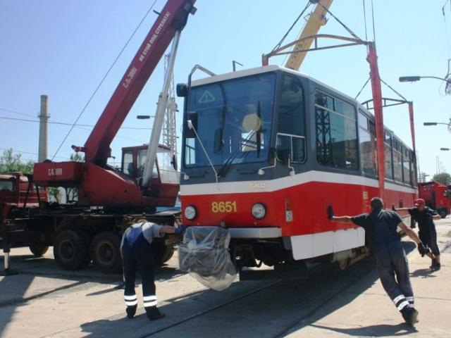 České tramvaje míří z Prahy do bulharské Sofie. Foto DPP