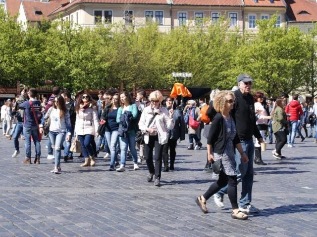Prague City Tourism zvyšuje honoráře průvodcům. Foto Praha Press