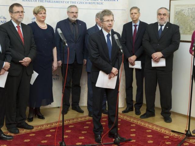 Senátoři chtějí zrušit část zákona o rozpočtové odpovědnosti, obrátili se na Ústavní soud. Foto Senát PČR
