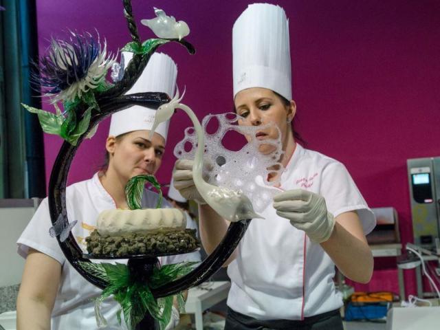 Veletrh z oblasti kulinářského umění v Budapešti láká české odborníky. Foto HUNGEXPO