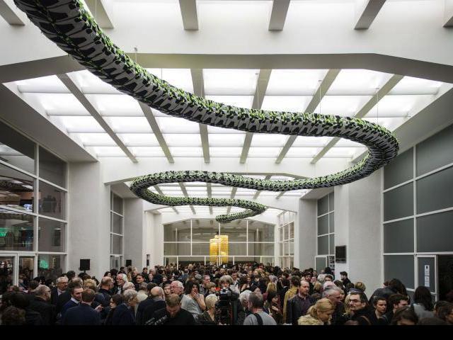 Přes 7 tisíc návštěvníků Grand Openingu zahájilo jarní výstavní sezónu. Foto Národní galerie