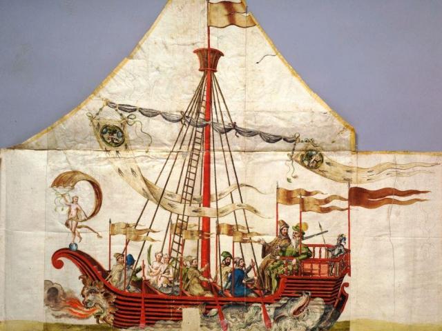 Kolowrat-Kodex, Sigmund Alsässer, Oslavy svatby Jana Libštejnského z Kolowrat s neteří Filipíny Welserové, manželky, Foto ©Národní galerie