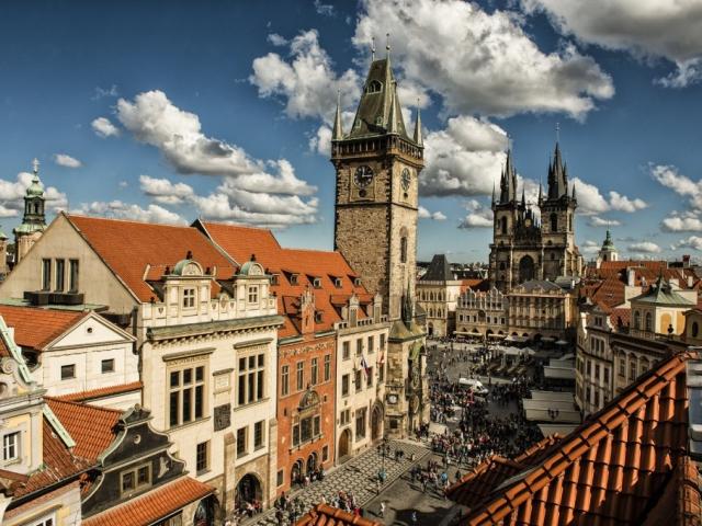Vstupenka na Staroměstskou radnici bude platit i na věž Novoměstské radnice, foto Prague City Tourism