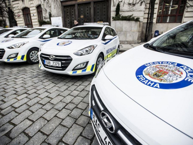 Flotila vozů Hyundai Městské policie Praha se rozšiřuje, foto Hyundai Motor Czech s.r.o.