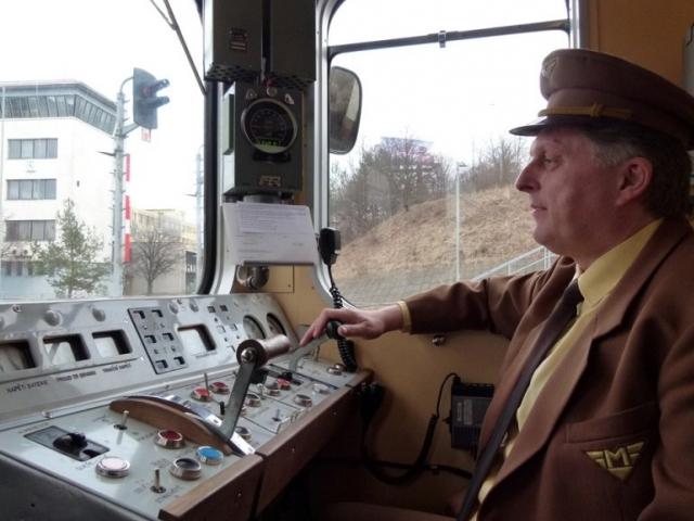 Historická souprava připomene 43. výročí zahájení provozu pražského metra, foto DPP