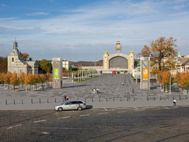 Výstaviště Praha kromě vstupní brány nabídne také nejmodernější letní kino v metropoli, foto MHMP