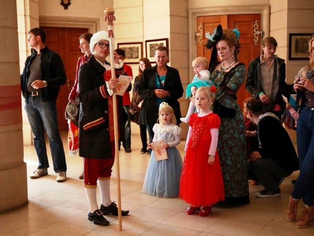 Ples princů a princezen na zámku Karlova Koruna, foto zámek Karlova Koruna