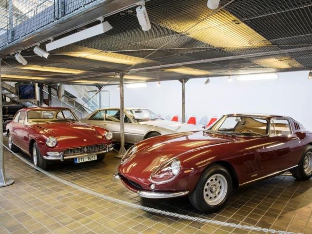 Obdivujte historická Ferrari v Národním technickém muzeu, foto NTM