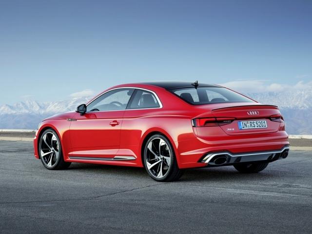 Audi zahajuje na českém trhu předprodej druhé generace vysokovýkonného modelu RS 5 Coupé. Foto Audi