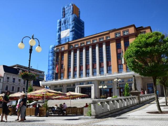 Vyhlídková radniční věž v Jablonci je pro turisty uzavřená, foto Město Jablonec