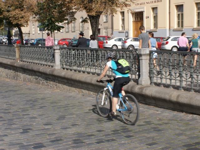 Nová cyklonavigace pomůže jezdit Prahou snadněji, foto Praha Press