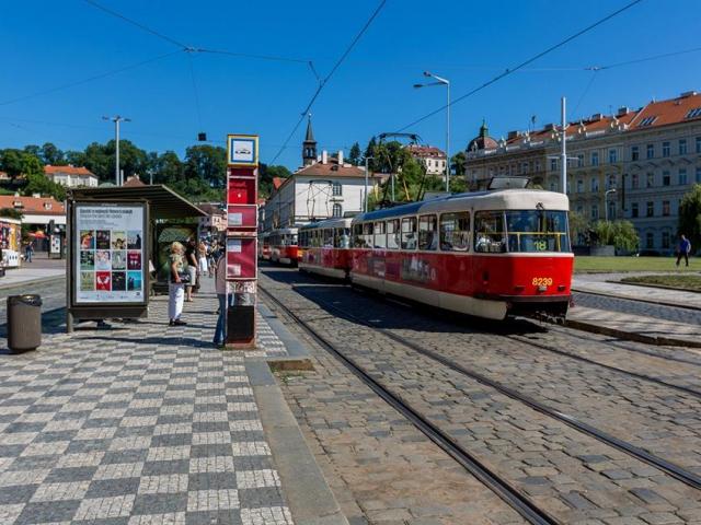 Klárov čeká lepší řešení dopravy i propojení s řekou, foto IPR Praha