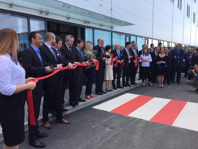 Společnost Yanfeng Automotive Interiors otevřela nový výrobní závod v Česku, foto CzechInvest