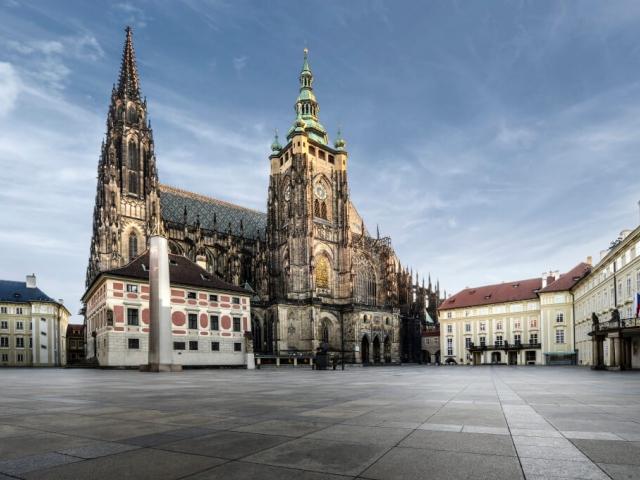 Blíží se oslavy Dne ozbrojených sil na Pražském hradě. Foto Správa Pražského hradu