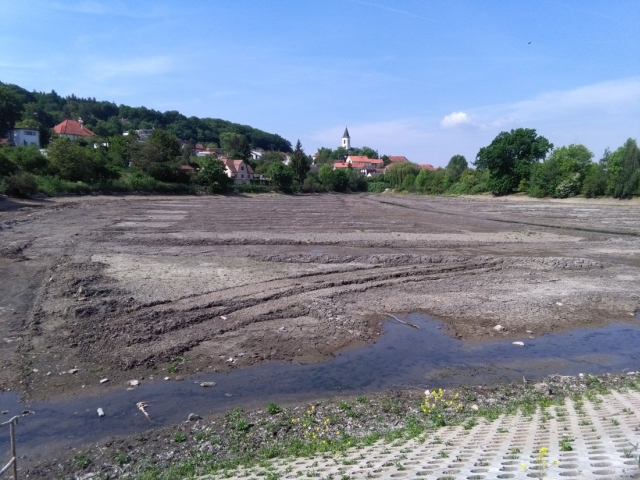 Libocký rybník se bude upravovat do září, foto Lesy Praha