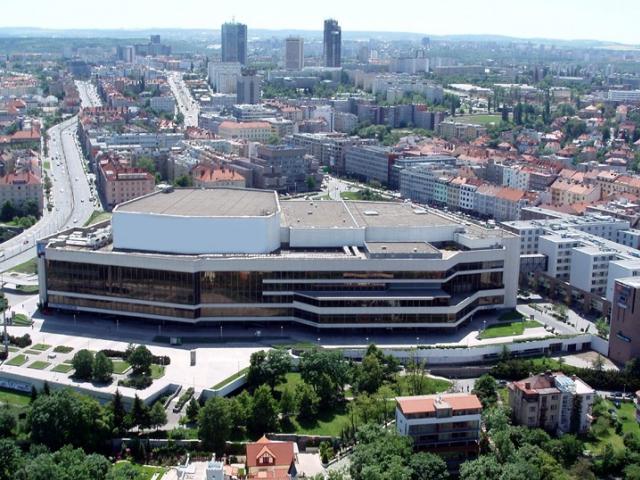 Online anketa k revitalizaci severní terasy Kongresového centra, foto ÚMČ Praha 4
