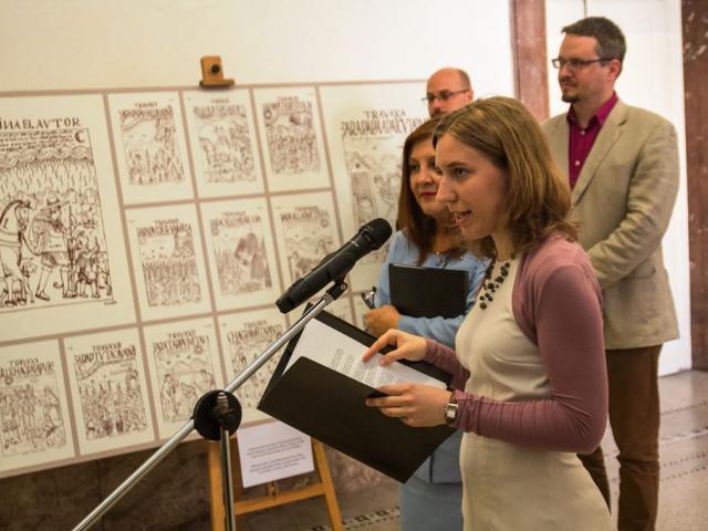 Výstava peruánského kronikáře bude k vidění do půlky července, foto FF UK