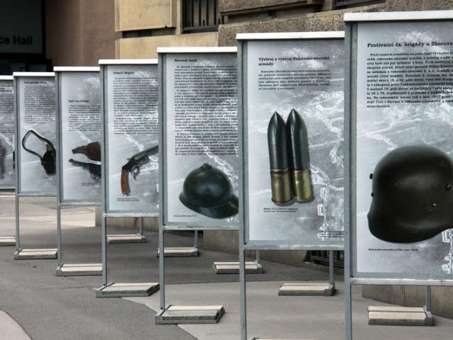 Výstava ke stému výročí bitvy u Zborova, foto VHÚ