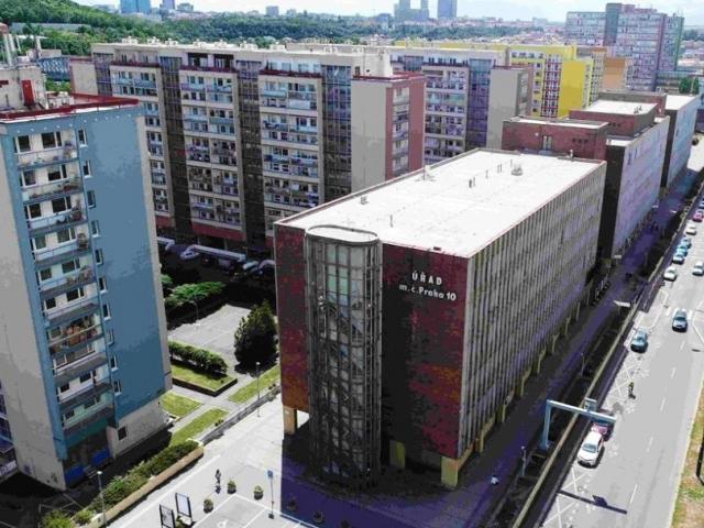 Je schválena rekonstrukce radnice Prahy 10, foto ÚMČ Praha 10
