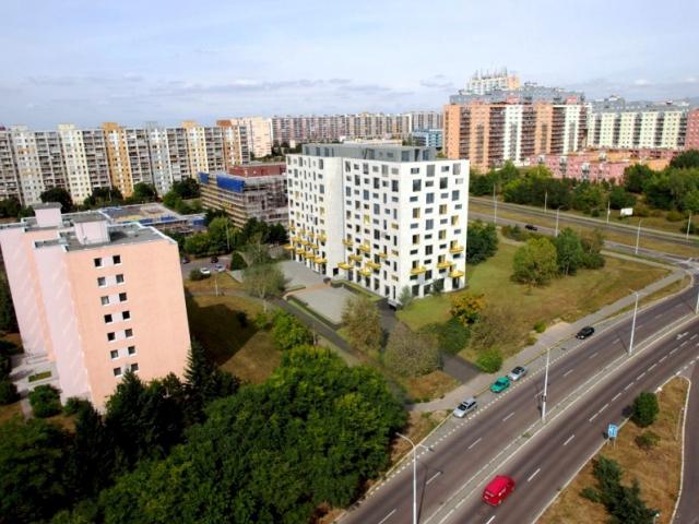 Městská část Praha 8 bojuje proti stavbě Troja Horizons, foto RH-ARCH