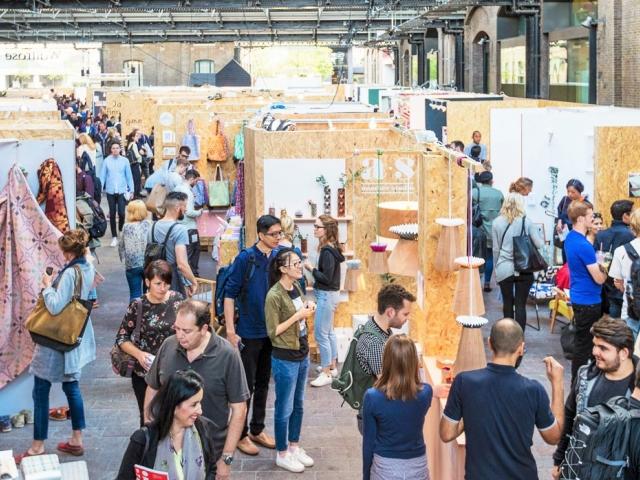 Londýnská inspirace pro odborníky, umělce i veřejnost na veletrhu designu, foto thedesignjunction.co.uk