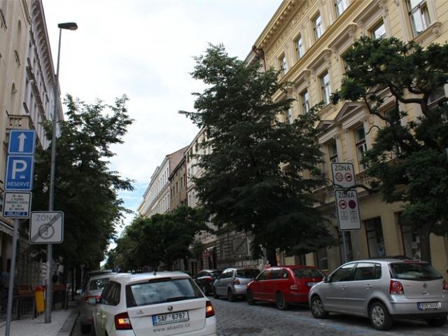 Belgická ulice je kompletně zrekonstruována, foto ÚMČ Praha 2