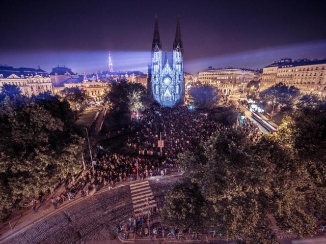 Mezinárodní festival světla SIGNAL bude v Praze už popáté. Foto Alexander Dobrovodský