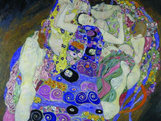 Secesní obraz Panna Gustava Klimta bude zapůjčena do USA, foto Národní galerie