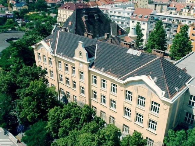 Praha 10 opraví secesní budovu školy V Olšinách, foto ÚMČ Praha 10