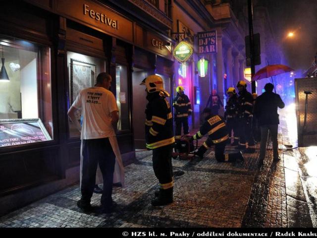Požár fritézy v restauraci způsobil škodu za sto tisíc. Foto Radek Krahulík