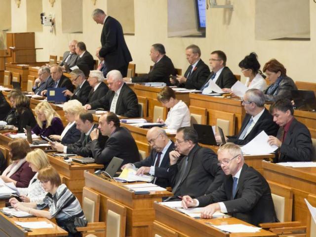 Lidovečtí senátoři odmítají zbraňovou ústavní novelu, foto Senát PČR