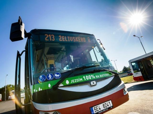Další elektrobus bude testován v Praze, foto DPP