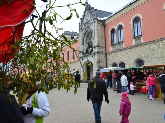Vánoční trhy Sychrov, foto archiv NPÚ, Sychrov