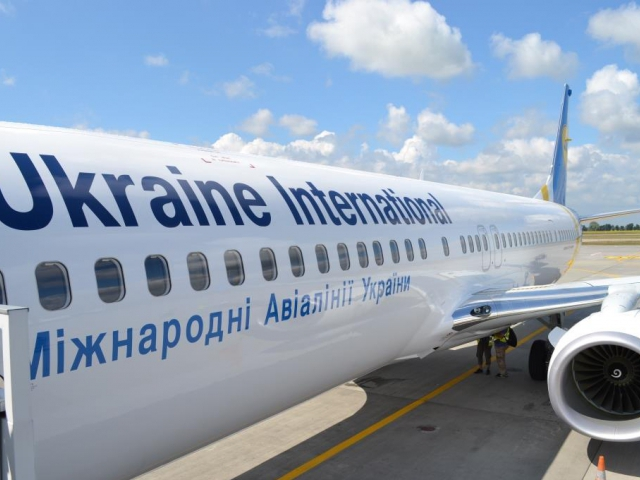 ČSA a Ukraine International Airlines se dohodly na spolupráci, foto Ukraine International Airlines