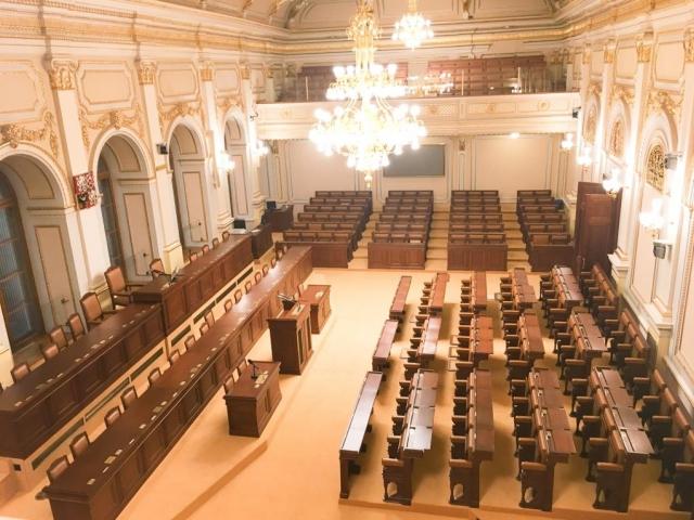 Ustavující schůze nové Sněmovny po volbách začne v pondělí 20. listopadu, foto Parlament ČR