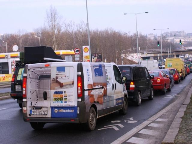 Praha 6 vyzývá magistrát k řešení dopravní situace kolem okruhu. Foto Praha Press