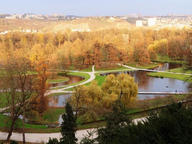 Centrální část parku Stromovka je již zrekonstruovaná, foto Lesy Praha