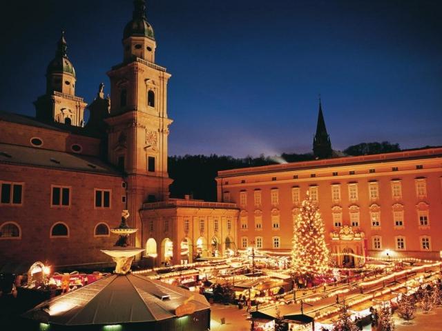 Salzburger-Christkindlmarkt, foto Tourismus Salzburg