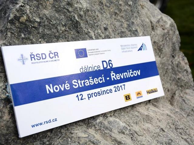 Začaly práce na 10 kilometrech dálnice D6 u Řevničova, foto: MD ČR.