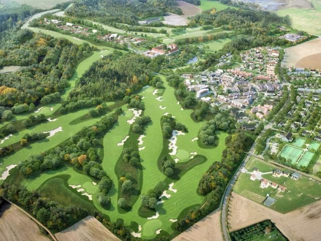 Nedaleko Prahy vzniká rozsáhlé golfové hřiště, foto: PSJ, a.s.