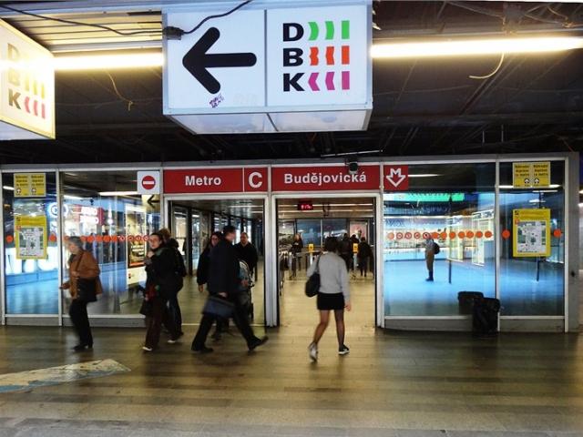 Praha 4 požaduje okamžité otevření vestibulu stanice Budějovická, foto ÚMČ Praha 4