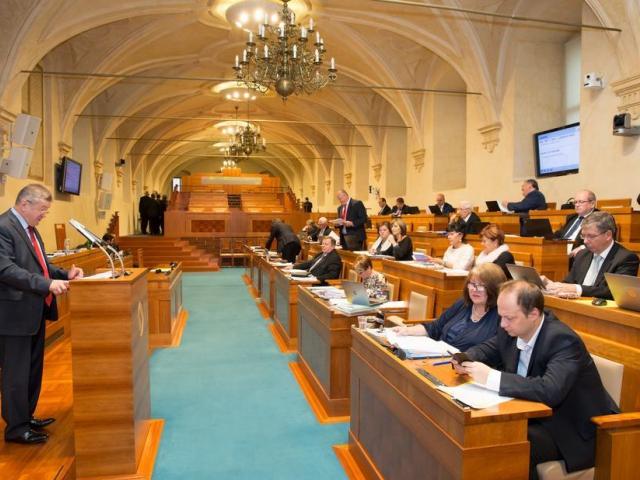 Ilustrační foto: zasedání Senátu Parlamentu ČR, foto Senát PČR