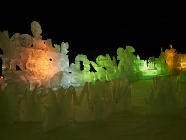 Výstava ledových soch prodloužena! Foto Destinační management turistické oblasti Beskydy-Valašsko o.p.s.