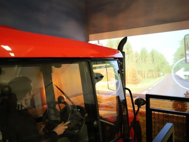 Vyzkoušejte nový traktorový trenažér v Národním zemědělském muzeu. Foto NZM